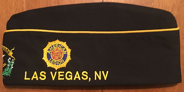 Legion Cap Left Side