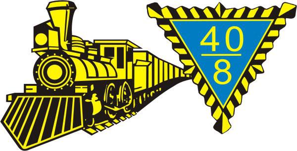 40&8 locomotive