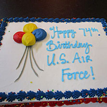 Air Force 74th Birthday Bash